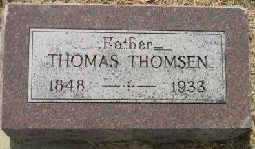 THOMSEN, THOMAS - Turner County, South Dakota | THOMAS THOMSEN - South Dakota Gravestone Photos