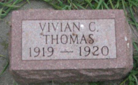 THOMAS, VIVIAN C. - Turner County, South Dakota | VIVIAN C. THOMAS - South Dakota Gravestone Photos