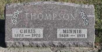THOMPSON, MINNIE - Turner County, South Dakota | MINNIE THOMPSON - South Dakota Gravestone Photos