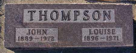 THOMPSON, JOHN - Turner County, South Dakota | JOHN THOMPSON - South Dakota Gravestone Photos