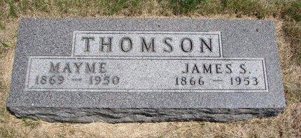 "NICKERSON THOMSON, MARY B. ""MAYME"" - Turner County, South Dakota | MARY B. ""MAYME"" NICKERSON THOMSON - South Dakota Gravestone Photos"