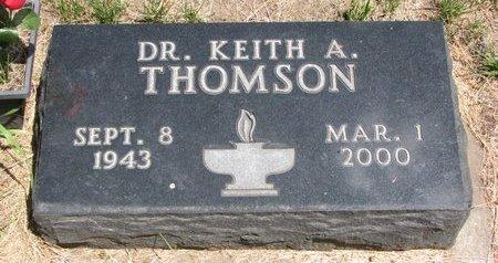 THOMSON, KEITH A. (DR.) - Turner County, South Dakota | KEITH A. (DR.) THOMSON - South Dakota Gravestone Photos