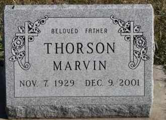 THORSON, MARVIN - Turner County, South Dakota | MARVIN THORSON - South Dakota Gravestone Photos