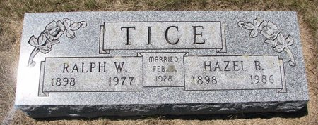 BURR TICE, HAZEL JENETTE - Turner County, South Dakota | HAZEL JENETTE BURR TICE - South Dakota Gravestone Photos