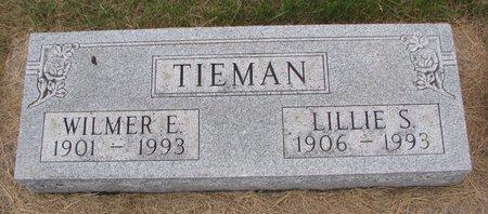 TIEMAN, WILMER E. - Turner County, South Dakota | WILMER E. TIEMAN - South Dakota Gravestone Photos