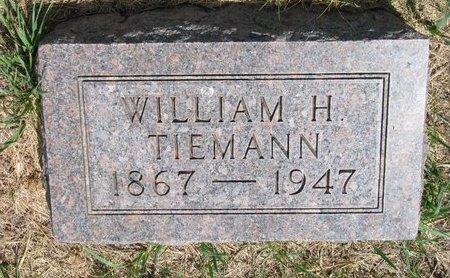 TIEMANN, WILLIAM H. - Turner County, South Dakota | WILLIAM H. TIEMANN - South Dakota Gravestone Photos