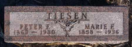 TIESEN, MARIE F - Turner County, South Dakota | MARIE F TIESEN - South Dakota Gravestone Photos