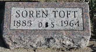 TOFT, SOREN - Turner County, South Dakota   SOREN TOFT - South Dakota Gravestone Photos