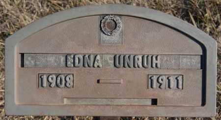 UNRUH, EDNA - Turner County, South Dakota   EDNA UNRUH - South Dakota Gravestone Photos