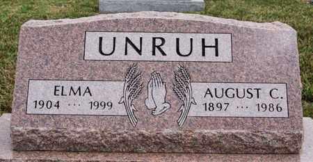 UNRUH, ELMA - Turner County, South Dakota | ELMA UNRUH - South Dakota Gravestone Photos