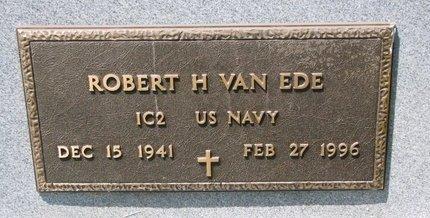 VAN EDE, ROBERT H. (MILITARY) - Turner County, South Dakota   ROBERT H. (MILITARY) VAN EDE - South Dakota Gravestone Photos