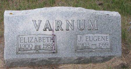 VARNUM, ELIZABETH - Turner County, South Dakota   ELIZABETH VARNUM - South Dakota Gravestone Photos