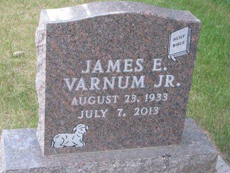 VARNUM, JAMES E. JR. - Turner County, South Dakota | JAMES E. JR. VARNUM - South Dakota Gravestone Photos