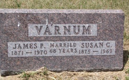 AYER VARNUM, SUSAN CAROLINE - Turner County, South Dakota | SUSAN CAROLINE AYER VARNUM - South Dakota Gravestone Photos