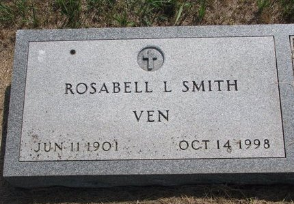 SMITH VEN, ROSABELL L. - Turner County, South Dakota | ROSABELL L. SMITH VEN - South Dakota Gravestone Photos