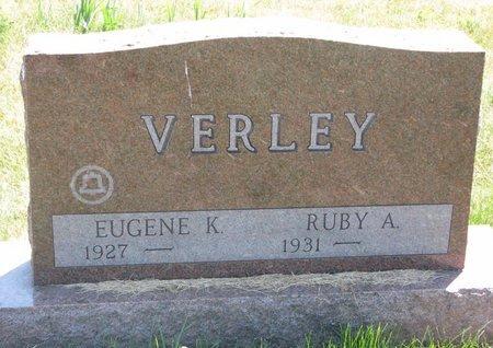 VERLEY, RUBY A. - Turner County, South Dakota | RUBY A. VERLEY - South Dakota Gravestone Photos