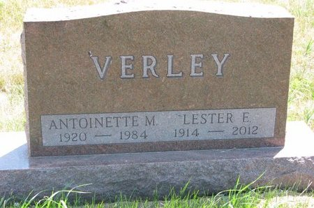 """VERLEY, ANTOINETTE M. """"TONI"""" - Turner County, South Dakota 