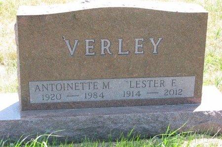 VERLEY, LESTER E. - Turner County, South Dakota | LESTER E. VERLEY - South Dakota Gravestone Photos
