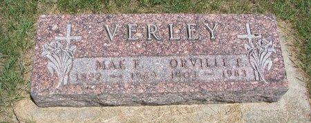 VERLEY, ORVILLE E. - Turner County, South Dakota | ORVILLE E. VERLEY - South Dakota Gravestone Photos