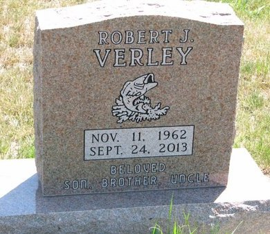 VERLEY, ROBERT J. - Turner County, South Dakota | ROBERT J. VERLEY - South Dakota Gravestone Photos