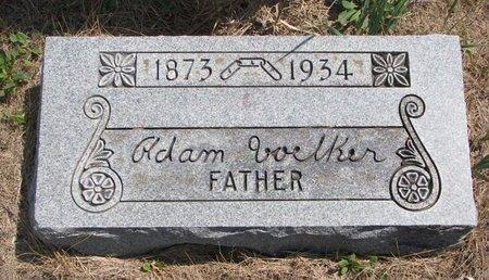 VOELKER, ADAM - Turner County, South Dakota | ADAM VOELKER - South Dakota Gravestone Photos
