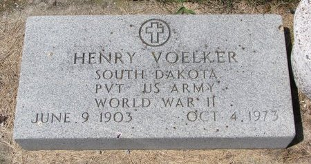 VOELKER, HENRY - Turner County, South Dakota | HENRY VOELKER - South Dakota Gravestone Photos