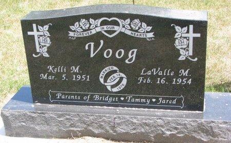 VOOG, KELLI M. - Turner County, South Dakota   KELLI M. VOOG - South Dakota Gravestone Photos
