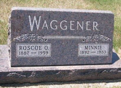 WAGGENER, ROSCOE O. - Turner County, South Dakota | ROSCOE O. WAGGENER - South Dakota Gravestone Photos