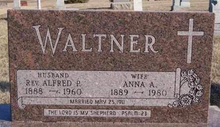 WALTNER, ANNA A - Turner County, South Dakota | ANNA A WALTNER - South Dakota Gravestone Photos
