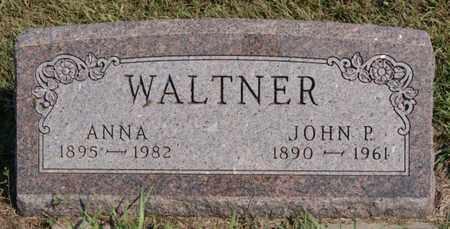 WALTNER, JOHN P - Turner County, South Dakota | JOHN P WALTNER - South Dakota Gravestone Photos