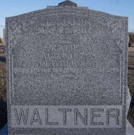WALTNER, BENJAMIN - Turner County, South Dakota | BENJAMIN WALTNER - South Dakota Gravestone Photos