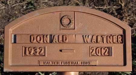 WALTNER, DONALD - Turner County, South Dakota | DONALD WALTNER - South Dakota Gravestone Photos