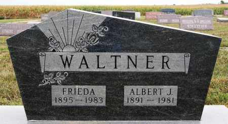 WALTNER, ALBERT J - Turner County, South Dakota | ALBERT J WALTNER - South Dakota Gravestone Photos