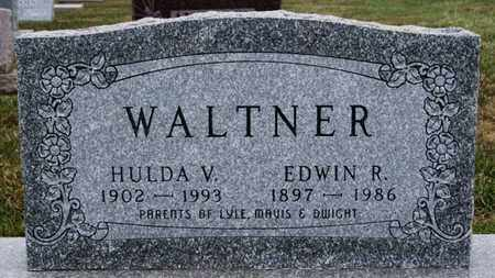 WALTNER, EDWIN R - Turner County, South Dakota | EDWIN R WALTNER - South Dakota Gravestone Photos