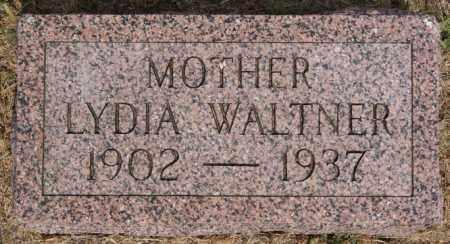 WALTNER, LYDIA - Turner County, South Dakota | LYDIA WALTNER - South Dakota Gravestone Photos