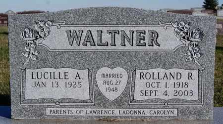 WALTNER, ROLLAND R - Turner County, South Dakota | ROLLAND R WALTNER - South Dakota Gravestone Photos
