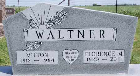 WALTNER, MILTON - Turner County, South Dakota | MILTON WALTNER - South Dakota Gravestone Photos