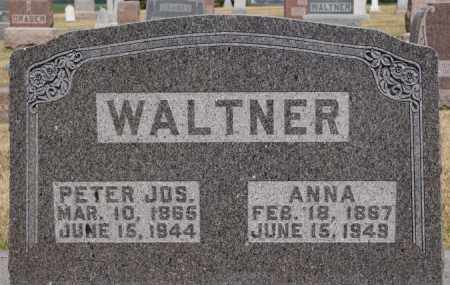 WALTNER, PETER JOS - Turner County, South Dakota | PETER JOS WALTNER - South Dakota Gravestone Photos