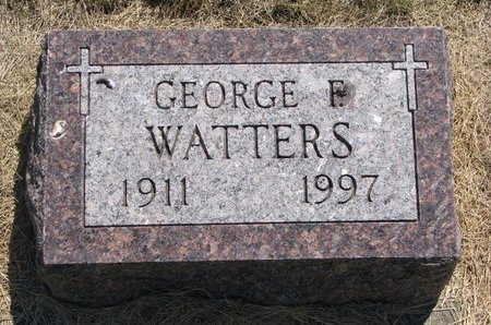 WATTERS, GEORGE F. - Turner County, South Dakota | GEORGE F. WATTERS - South Dakota Gravestone Photos