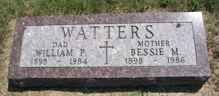 WATTERS, BESSIE M. - Turner County, South Dakota | BESSIE M. WATTERS - South Dakota Gravestone Photos