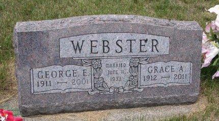 WEBSTER, GRACE ALMEDA - Turner County, South Dakota | GRACE ALMEDA WEBSTER - South Dakota Gravestone Photos