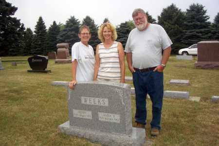 BLEGEN WEEKS, ANNA - Turner County, South Dakota | ANNA BLEGEN WEEKS - South Dakota Gravestone Photos