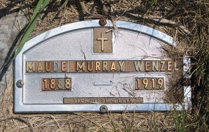 WENZEL, MAUDE - Turner County, South Dakota | MAUDE WENZEL - South Dakota Gravestone Photos