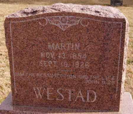WESTAD, MARTIN - Turner County, South Dakota | MARTIN WESTAD - South Dakota Gravestone Photos