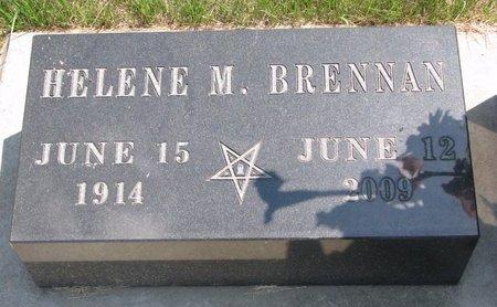 BRENNAN WEVERSTAD, HELENE M. - Turner County, South Dakota | HELENE M. BRENNAN WEVERSTAD - South Dakota Gravestone Photos