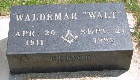 "WEVERSTAD, WALDEMAR ""WALT"" - Turner County, South Dakota   WALDEMAR ""WALT"" WEVERSTAD - South Dakota Gravestone Photos"