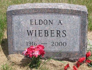 WIEBERS, ELDON A. - Turner County, South Dakota | ELDON A. WIEBERS - South Dakota Gravestone Photos
