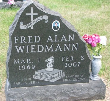 WIEDMANN, FRED ALAN - Turner County, South Dakota | FRED ALAN WIEDMANN - South Dakota Gravestone Photos
