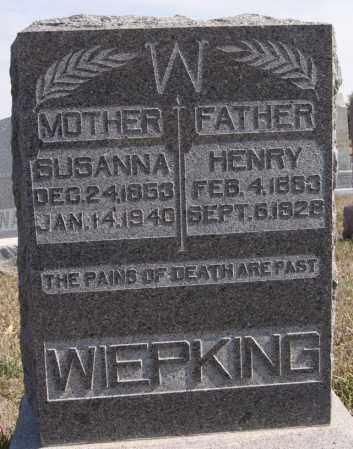 WIEPKING, HENRY - Turner County, South Dakota | HENRY WIEPKING - South Dakota Gravestone Photos