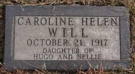 WILL, CAROLINE HELEN - Turner County, South Dakota | CAROLINE HELEN WILL - South Dakota Gravestone Photos